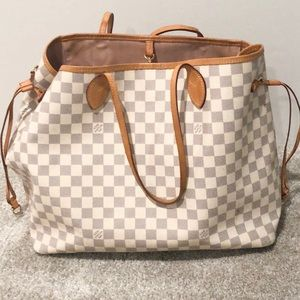 Louis Vuitton Damier Azur GM Neverfull